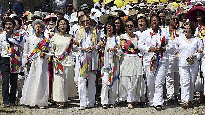 Gloria Steinem in Nordkorea: Busfahrt für den Frieden