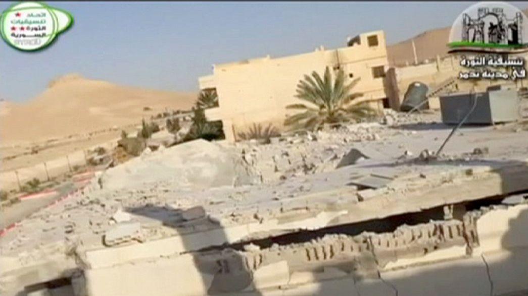 Százakat végzett ki az Iszlám Állam a szíriai Palmürában