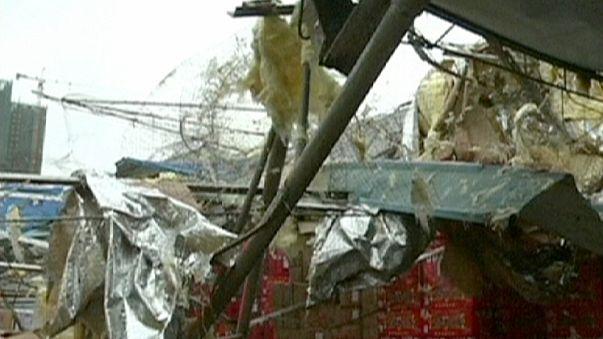Schwere Unwetter in China
