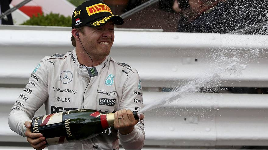 Rosberg takes late Monaco win, Latvala shines in Portugal