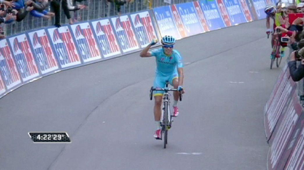 Contador resiste em Madonna di Campiglio