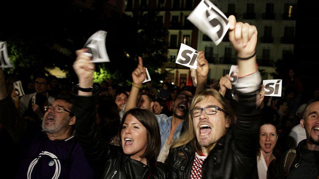 Espagne : forte poussée des listes citoyennes aux municipales
