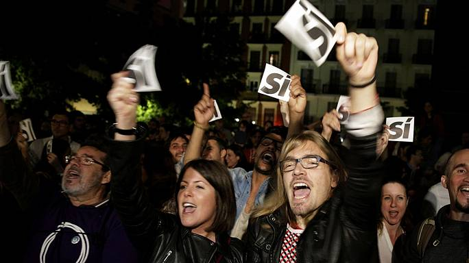 Podemos and Ciudadanos make gains in Spain's regional elections