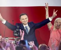 Poland's Komorowski concedes defeat to rival Duda in presidential poll