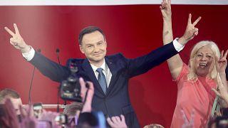 Polonya'nın yeni Cumhurbaşkanı Andrzej Duda