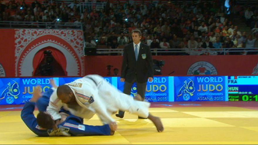Judo: Riner torna sul tatami al Masters di Rabat e detta subito legge
