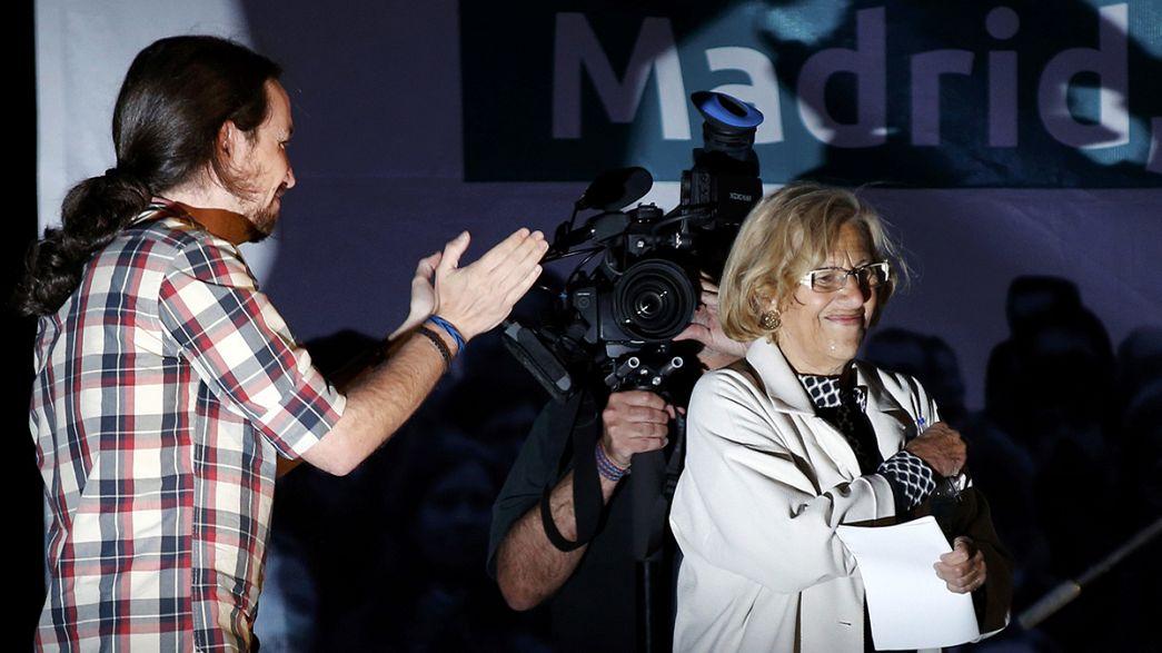 انتخابات في إسبانيا تحمل الغاضبين إلى أبواب مدريد وبرشلونة