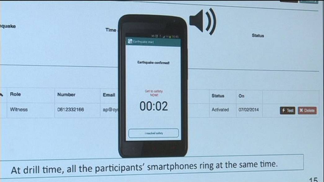 Smartphone app could save lives during earthquake say inventors