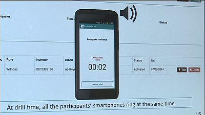 Erdbeben-App könnte Menschen helfen, sich rechtzeitig in Sicherheit zu bringen