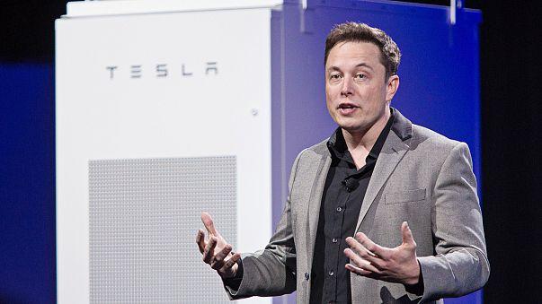 Image: Tesla Motors Inc. Chief Executive Officer Elon Musk Unveils New Gene