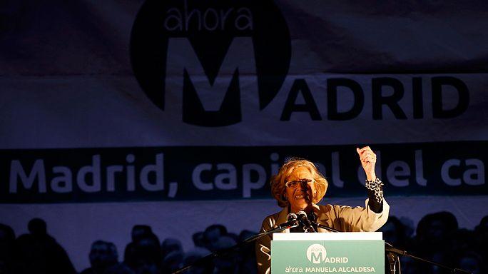 İspanya yerel seçimlerinde yeni siyasi figürler ön plana çıktı
