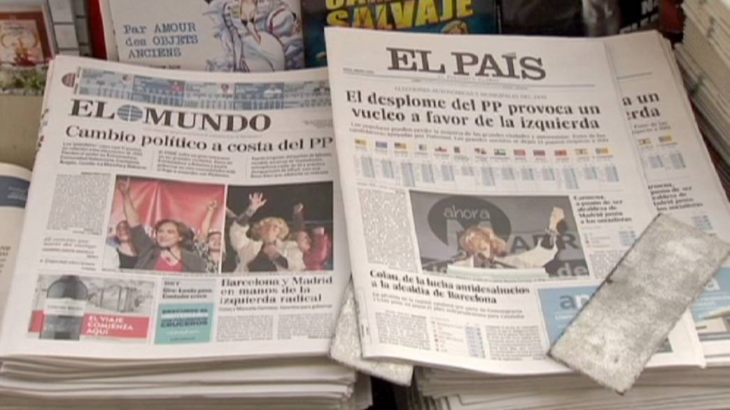 Madrid residents react to Spain's political shake-up