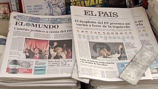 Sismo político abana perspetivas dos espanhóis