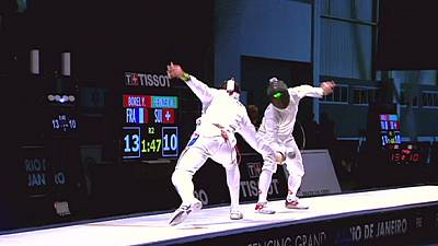 Borel continues France epee dominance in Rio