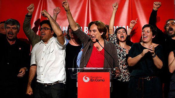 Sisteme öfkeli Ada Colau Barcelonalıların kalbini fethetti