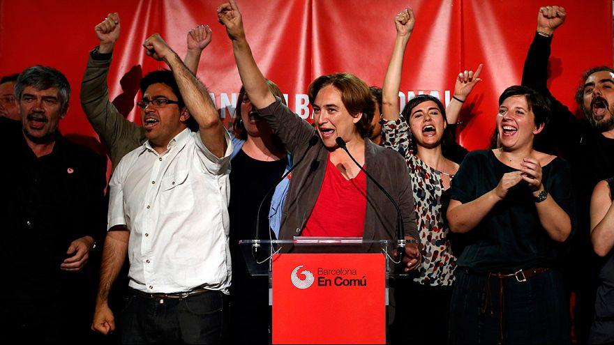Spagna: Ada Colau, l'indignata che conquista Barcellona