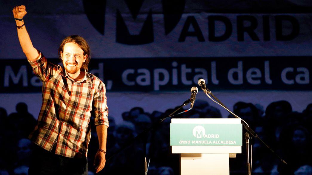 Pablo Iglesias donne l'estocade au bipartisme en Espagne
