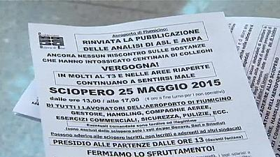 Thousands of air passengers grounded during Alitalia strike