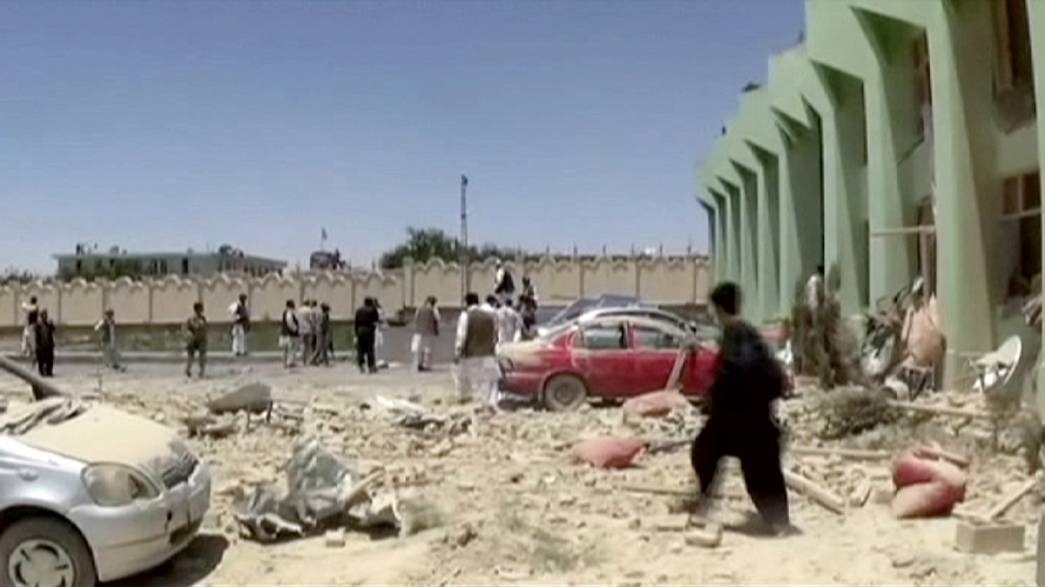 Afganistan bombalı intihar saldırısı