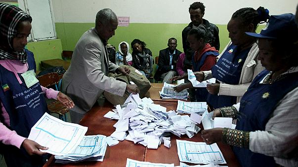 Ethiopia counting votes after parliamentary election