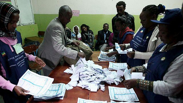 Etiyopya'da oy sayma işlemi sürüyor