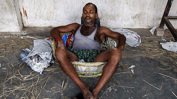 Hőhullám szedi áldozatait Indiában