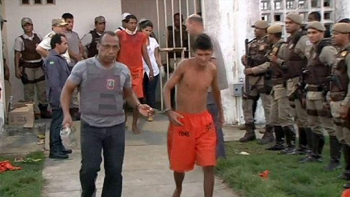 Halálos zendülés egy brazil börtönben