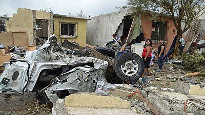 Starker Tornado fegt über mexikanische Stadt hinweg