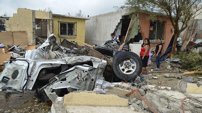 Tornádó gyilkolt Mexikóban