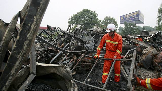 Fatal fire sweeps through elderly care home in China