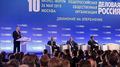 Putin calls for Russian businesses to fill the sanctions gap