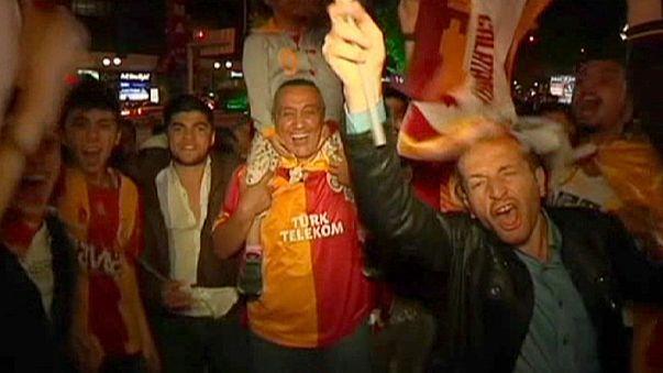 Turchia, notte di festa per il titolo del Galatasaray