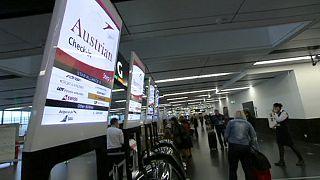 Viyana havaalanında güvenlik skandalı
