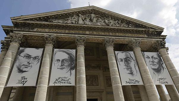 """Quatre héros de la Résistance française au Panthéon : """"Prenez place, c'est la vôtre !"""""""