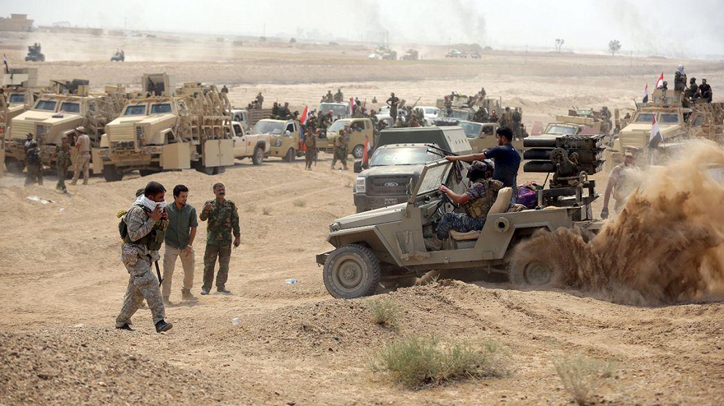 Vasta operación en Irak para liberar Ramadi
