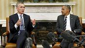 Obama denounces Russia's 'increasingly aggressive posture' on Ukraine