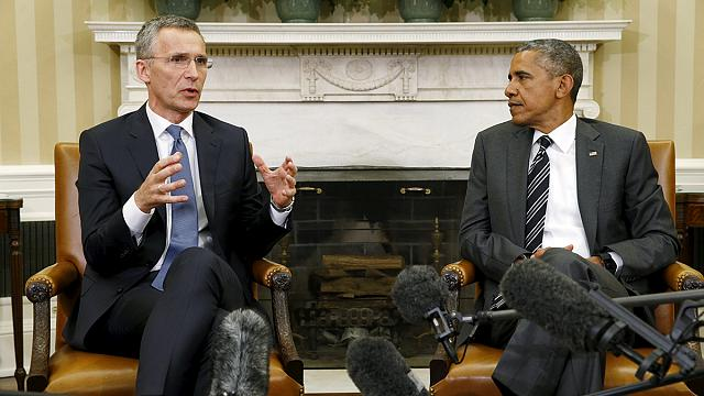 Obama denounces Russia's 'increasingly aggressive posture' on Ukraine