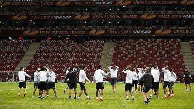 Europa League Finale in Warschau
