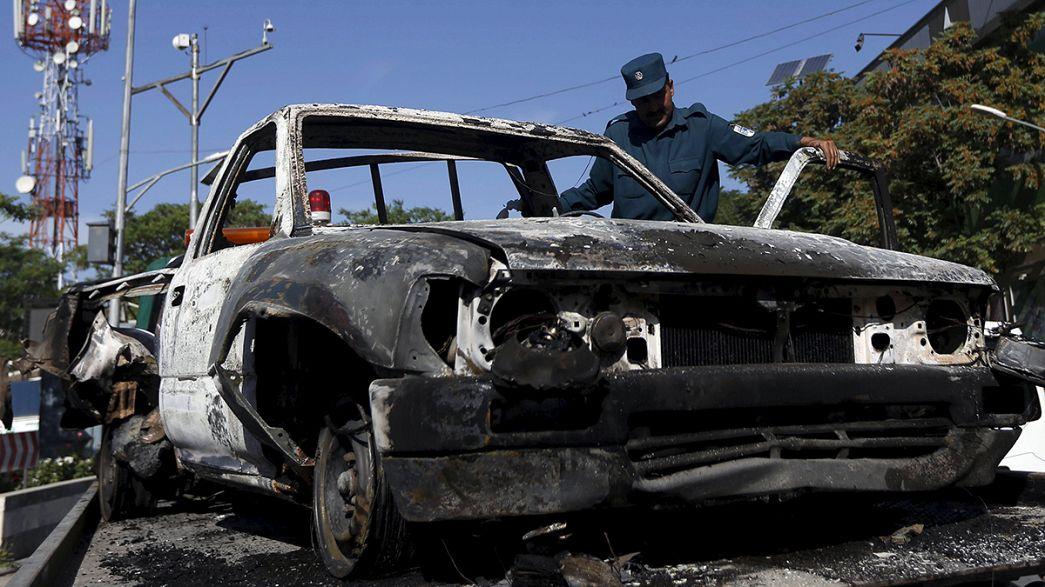 Angreifer tot: Attacke auf internationales Gästehaus in Kabul