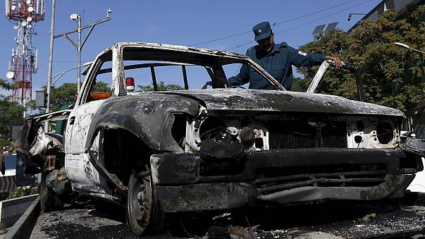 Afghan security forces kill gunmen in battle at a Kabul guest house