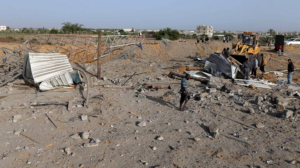 Ataques aéreos em Gaza após ofensiva com rocket