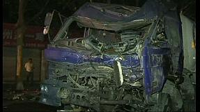 25 heridos en el accidente de un camión con oxígeno líquido en China