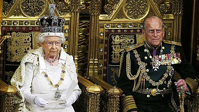 Britain's Queen outlines government priorities during state opening of parliament