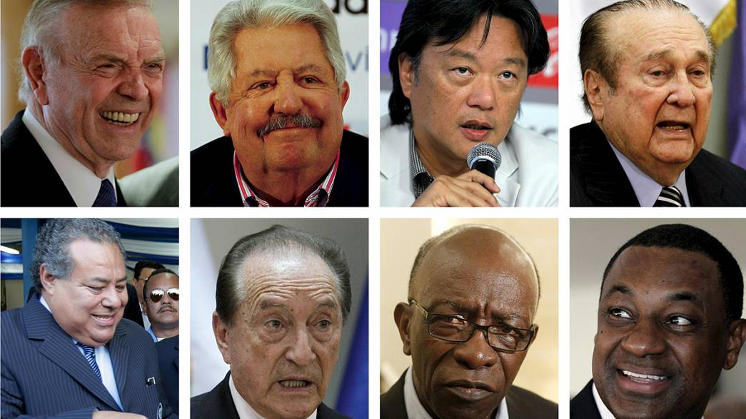 Football's most powerful figures await extradition to US