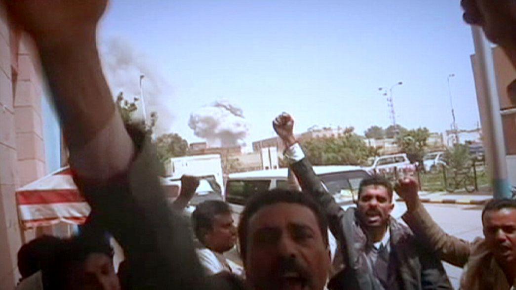 Yemen hava saldırılarıyla sarsıldı: En az 80 ölü