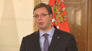 Aleksandar Vucic becomes first Serbian leader to visit Albania