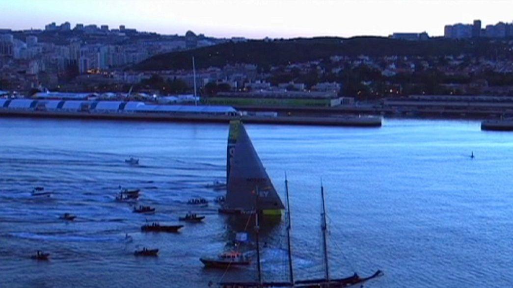 Voile : Brunel remporte la 7è étape de la Volvo Ocean Race à Lisbonne
