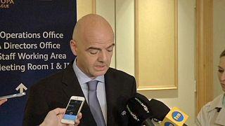 """الاتحاد الاوروبي لكرة القدم يطالب بتأجيل انتخابات """"فيفا"""" 6 أشهر"""