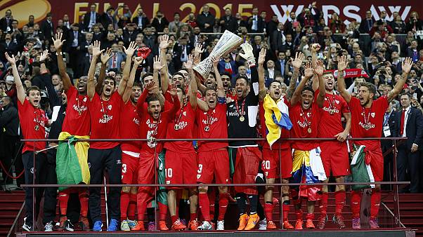 """Лига Европы: """"Севилья"""" - четыре победных финала"""