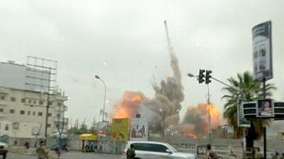 Saudi-led airstrikes kill at least 80 in Yemen
